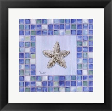 Framed Mosaic Starfish Artwork By Paul Brent At FramedArtcom