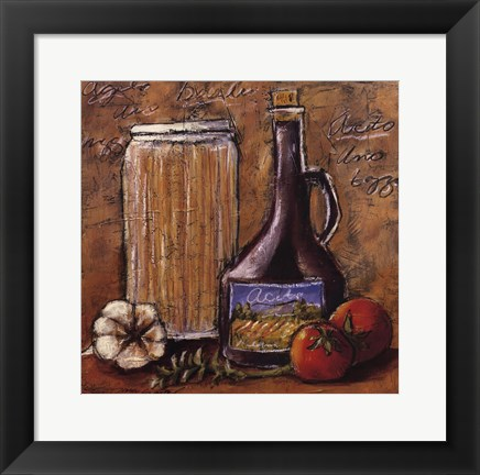 Framed Rustic Kitchen III Print