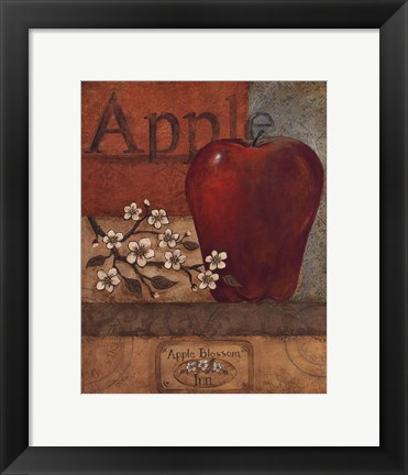 Framed Apple Crate - mini Print