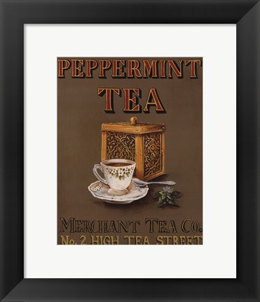 Framed Peppermint - mini Print