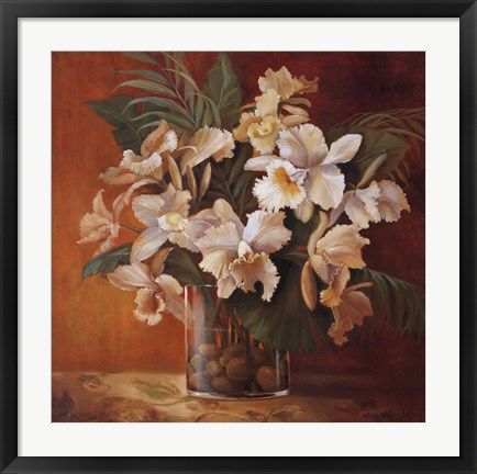 Framed Tropic Beauty II Print