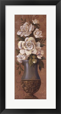 Framed Courtly Roses II - mini Print