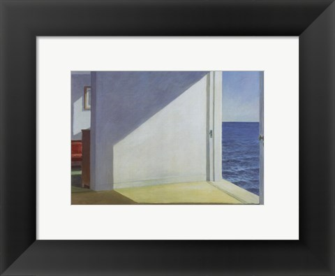 Framed Rooms by the Sea Print