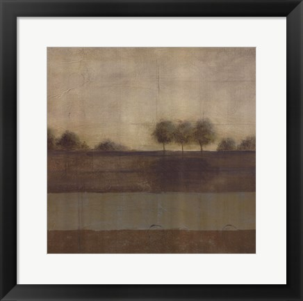 Framed Silent Journey I - CS Print