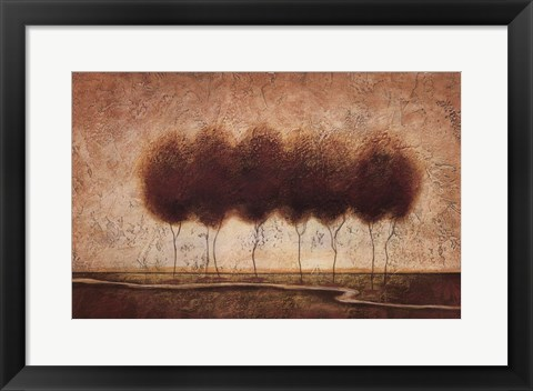 Framed Abstract Landscape IV - special Print