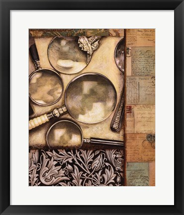 Framed Stationary Print