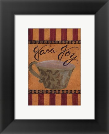 Framed Java Joy - petite Print