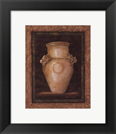 Framed Ancient Pottery II - mini Print
