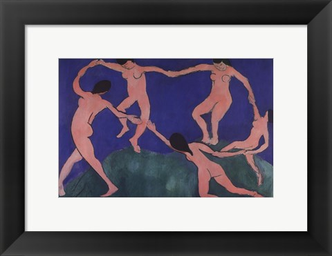 Framed Dance Print