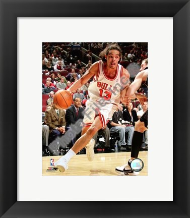Framed Joakim Noah 2007-08 Action Print