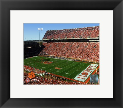 Framed Memorial Stadium 2006 - Clemson University Print