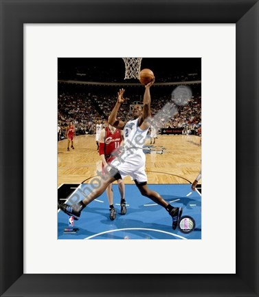 Framed Dwight Howard 2007-08 Action Print