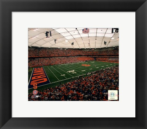 Framed Carrier Dome Syracuse University Orangemen 2006 Print