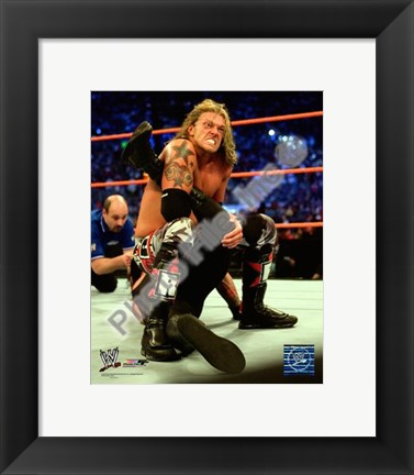 Framed Edge - Wrestlemania 24, 2008 #487 Print