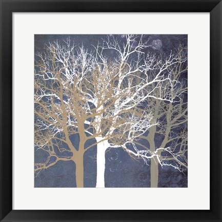 Framed Tranquil Trees Print