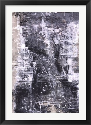 Framed Symphony of the City IV Print