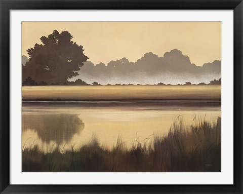 Framed Golden Glow Print