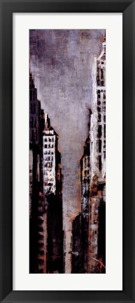 Framed New York, New York II Print