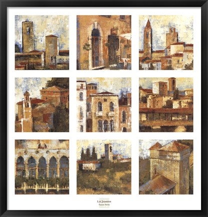 Framed Tuscan Series Print