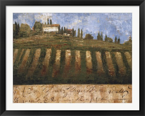 Framed Rustic Tuscany Print