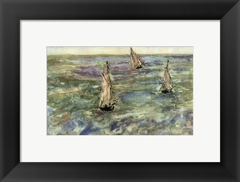 Framed Seascape Print