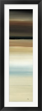 Framed Calm Thoughts Surround II Print