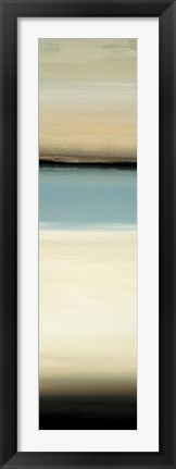 Framed Calm Thoughts Surround III Print
