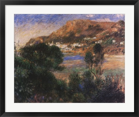 Framed Esterel Mountains Print