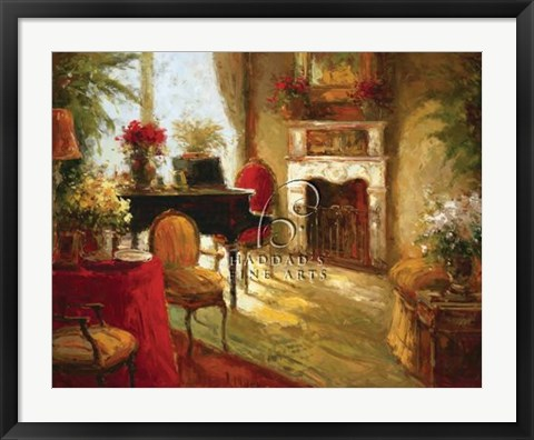 Framed Afternoon Music Print