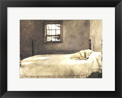 Framed Master Bedroom Print