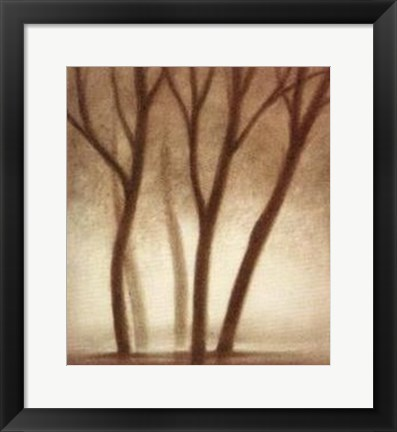 Framed Forest II Print