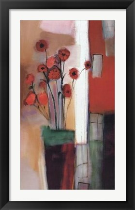 Framed Flowers at Home Print