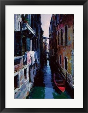Framed Venice Morning Print