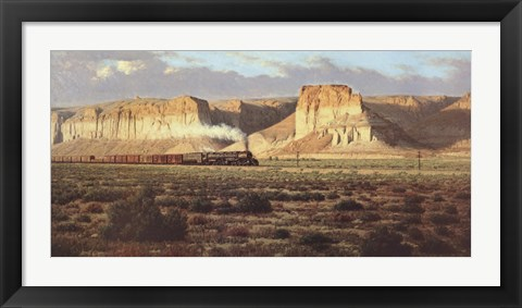 Framed Union Pacific Big Boy Print