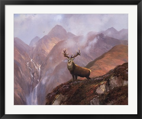 Framed Highlands Print