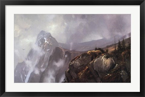Framed In the Alaska Range Print