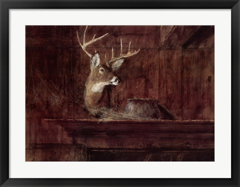 Framed Eleven Pointer, 1985 Print