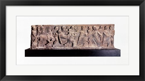 Framed Sarcophagus Front Return of the Bod Print
