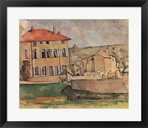 Framed House At Aix Print