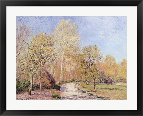 Framed Autumn Landscape Print