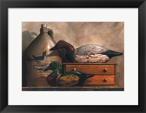Framed Canvasback and Wood Duck Print