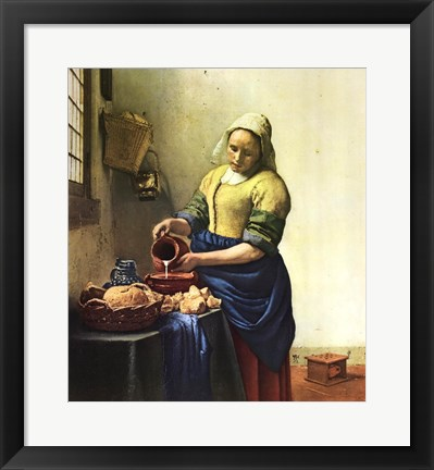 Framed Milkmaid, The Print