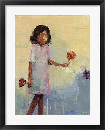 Framed Butterfly No. 3 Print