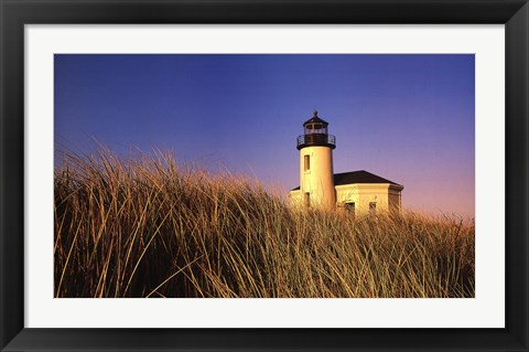 Framed Coquille River Lighthouse, Oregon Print