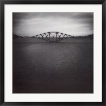Framed Forth Rail Bridge II Print