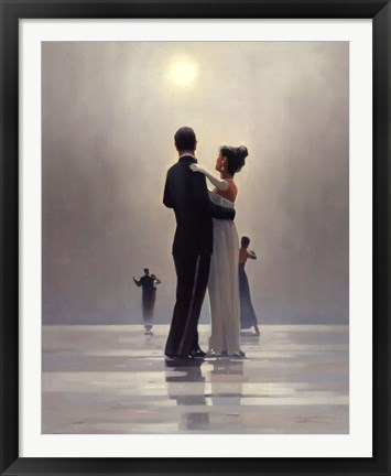 Framed Dance Me to the End of Love Print