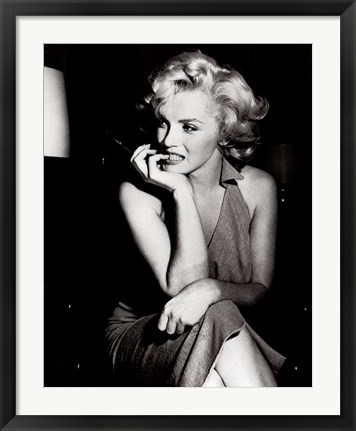 Framed Marilyn Monroe, 1952 Print