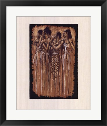Framed Sisters in Spirit Print