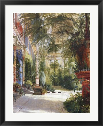 Framed Palm House Print