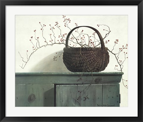 Framed Wild Rose Berries, c.1987 Print